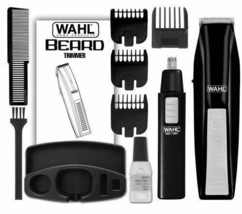 Cordless Ear Nose Eye Brow Beard Trimmer Battery Operated Storage Basket... - $33.26