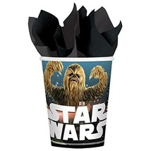 Star Wars Classic Birthday Party 9 Ounce Paper Cups 8  - $10.99