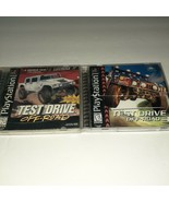 PlayStation Test Drive Off-Road 1 & 3 Bundle Racing Video Games - $9.90
