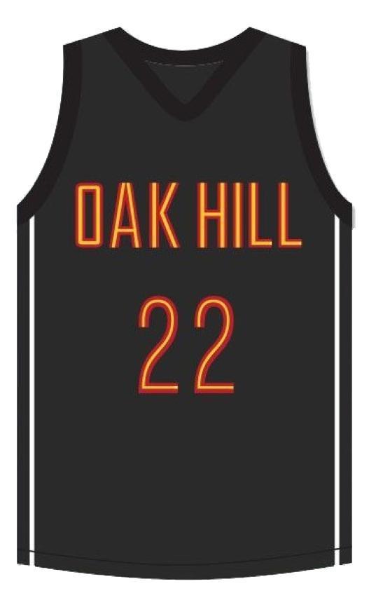 Carmelo anthony oak hill academy basketball jersey 1