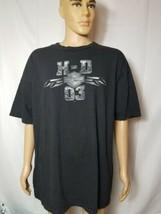 Vintage Harley Davidson Motorcycles HD 03 Shirt 2 Sided Oregon 1998 2002... - $42.92