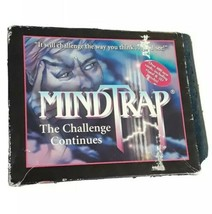 MindTrap: The Challenge Continues by Pressman (1997) COMPLETE - $9.85