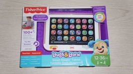 Fisher-Price Toddler Laugh Learn+Smart Stages Tablet Child Toy Girls - $28.04