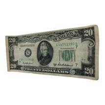 1950-B $20 TWENTY DOLLARS FRN FEDERAL RESERVE NOTE CHICAGO, IL  - $47.49
