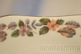 April Rose Tab Handled Cake Plate Made in England by Aynsley Gold Gilt Trim - $32.95