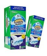 2 Pack Scrubbing Bubbles, Fresh Brush HEAVY DUTY Refills, 8 ct. ea. - $15.43