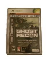 Tom Clancy's Ghost Recon: Island Thunder (Microsoft Xbox, 2003)Platinum ... - $7.69