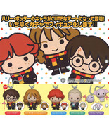 Harry Potter Keychain SD Swing Mascot Collection Hermione Draco Ron Dobby - $30.90