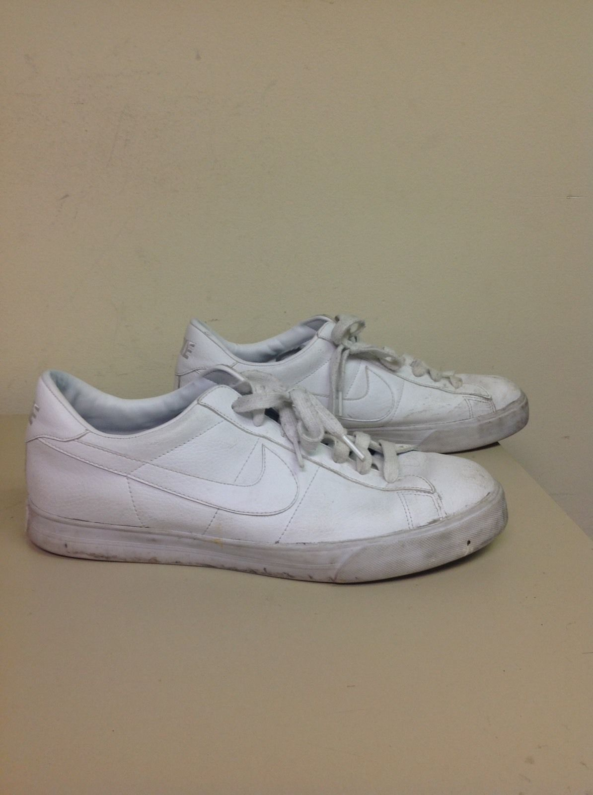Nike Sweet Classic Leather White MENS SHOES sz 12 (318333 114) Walking Tennis