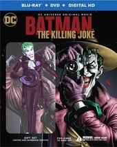 Batman The Killing Joke Limited Edition Gift Set Blu-Ray/Dvd - $60.00