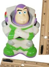 "Buzz Lightyear Plastic Toy Story - 4.5"" Vinyl Figure Disney Pixar Used 2010s - $9.88"