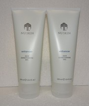 Two pack: Nu Skin Nuskin Enhancer Skin Conditioning Gel 100ml 3.4oz Sealed x2 - $34.00
