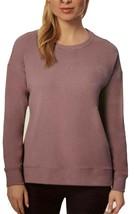 32 Degrees Women's Fleece Crewneck Pullover Sweatshirt (Plum, Medium) - $19.99