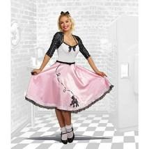 Adult's Rock Around The Clock 5 Piece Halloween Costume Women's S 2-6 Dreamgirl  - $26.72