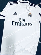 Real Madrid Adidas 2018/2019 Original Home Soccer Jersey Size Small - $74.24
