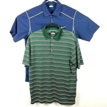 2d82f2dc Nike Golf Dri Fit Polo Shirt Size Medium Lot Of 2 Shirts Blue Green Athl.  Add to cart · View similar items