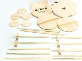 Hinoki wooden Japanese kitchen small items kids board, chopsticks chopst... - £56.97 GBP