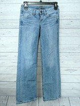 Silver Jeans Women's Faro Boot Cut 27x35  Light Crackle Wash Stretch (t1) - $24.99