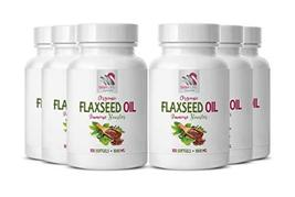 Flaxseed Oil Omega 3 - Flaxseed Oil Organic 1000mg - Reduce Menopausal S... - $85.09