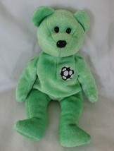 "Ty Beanie Baby Kicks the Soccer Bear 6"" NO TAG - $4.45"