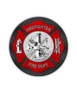 Crazy Sticker Guy Novelty Metal Sign - Firefighter, Fire Department, Lad... - $14.99