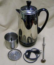 Faberware Superfast 12 Cup Automatic Electric Coffee Percolator FCP412-A... - $24.74