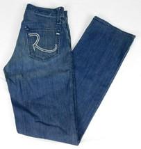 Rock Republic Mens Blue Denim Jeans Neil Button Fly W 30 L 34 - $19.99
