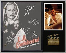 """LA Confidential Limited Edition Reproduction Movie Script Cinema Display """"C3"""" - $85.45"""