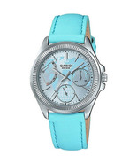 Casio Ladies LTP2089L-2A Analog Leather Band Watch - $72.00