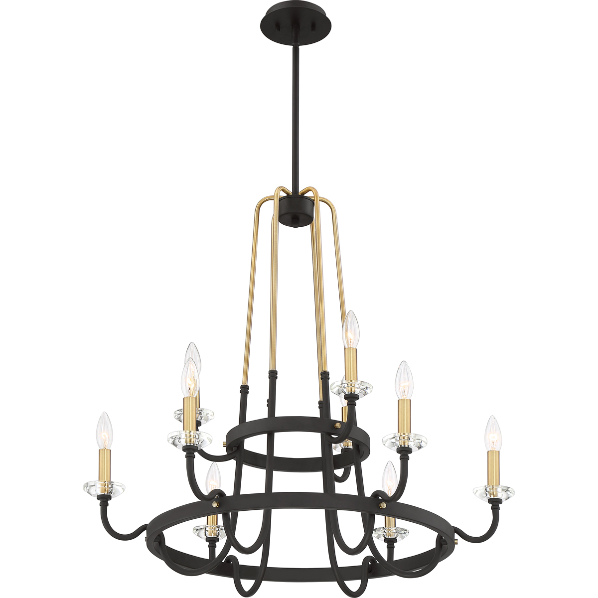 Primary image for Tanner 9-Light Chandelier in Western Bronze
