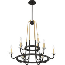 Tanner 9-Light Chandelier in Western Bronze - $649.99