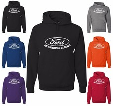 FORD An American Classic Sweatshirt Licensed Mustang F150 Truck Built Tough Hood - $20.98+