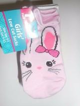 Pack of 7 Girls Animal Design Low Cut Socks Shoe Size 9-3 New - $9.85