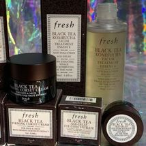 NIB Fresh Black Tea Age Delay Eye Serum Concentrate Overnight Firming Corset image 3