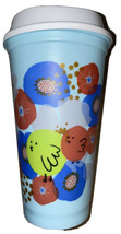 Starbucks Coffee 16 oz Reusable Spring Easter 2020 Blue Hot Cup Chicks F... - $11.96