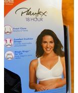 Playtex  BLACK 18 Hour  Front Close  Back Support  Posture Bra  42C - $18.00
