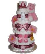 Sweet Safari Leopard Diaper Cake - $170.00