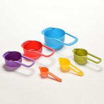 Colorful 6pcs kitchen colourworks baking utensil set kit for Kitchen tool set of 6pcs sj