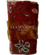 Harvest Season Fall Woven Fabric Napkin Set of 4 - Harvest Leaves - $8.75