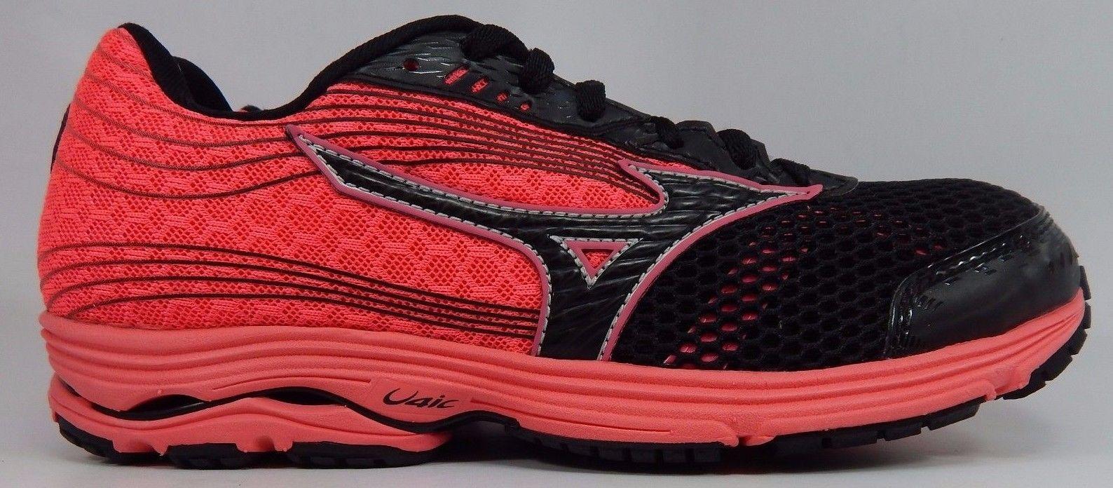 Mizuno Wave Sayonara 3 Women's Running Shoes Size US 8 M (B) EU 38.5 Pink Black