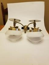 Vintage Valor C270 Double Propane or Butane Gas lamp indoor light fixtur... - $106.71