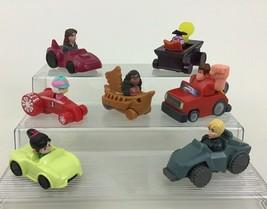 Wreck It Ralph 2 Ralph Breaks The Internet 7pc Lot Toy Cars Disney McDonalds A4 - $14.80