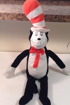 "Kohls Plush Cat In The Hat Dr Suess 2012 Plush 22"" tall CUTE - $9.13"