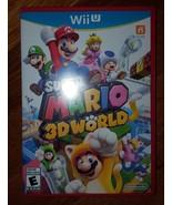 Super Mario 3D World Nintendo Wii U 2013 - $59.99