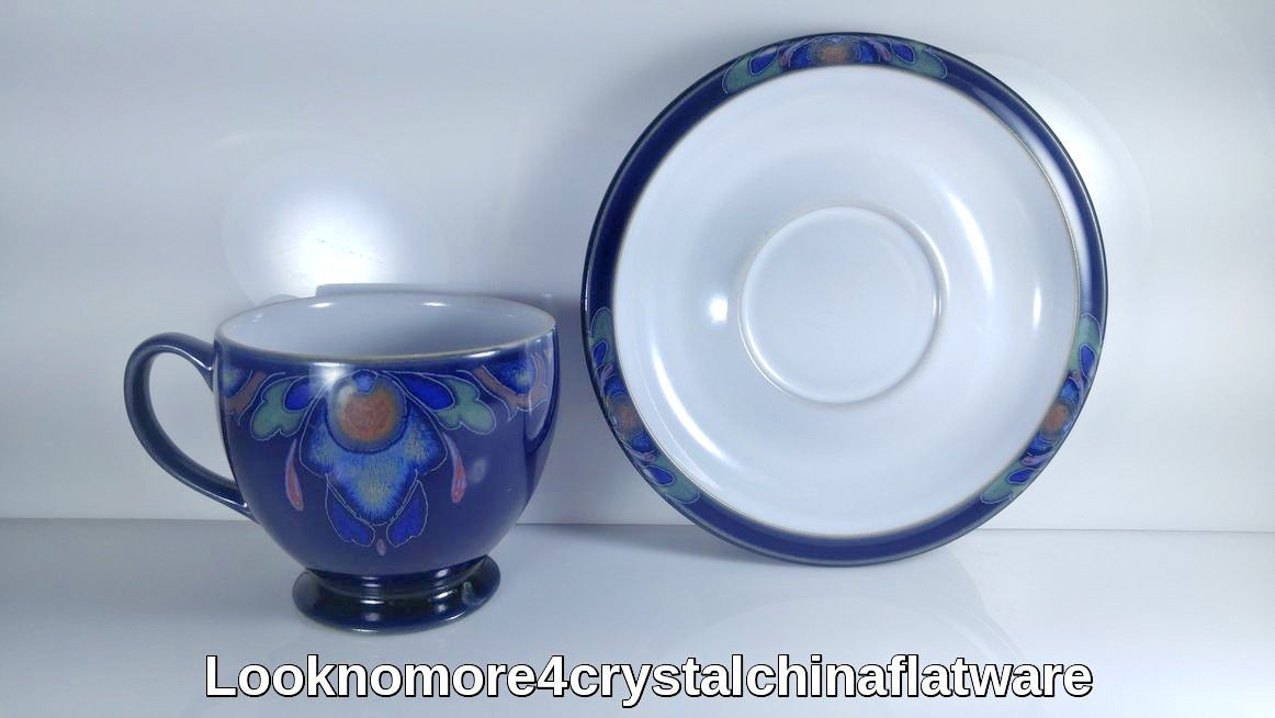 DENBY LORRAINE CUP AND SUACER