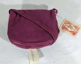 VP VINTAGE 1990's Barganza Pink Leather Crossbody Shoulder Bag Handbag P... - $13.99