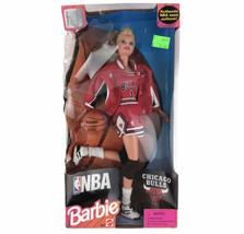 Vintage 1990s NBA Chicago Bulls Barbie Basketball Doll Uniform Jersey Mattel - $23.02