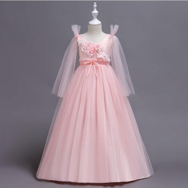 Primary image for Flower Girl Dress Wedding Bridesmaid Birthday Pageant Formal Gown Organza O-Y