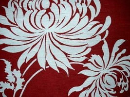 Vintage Rayon Screen Printed Fabric Swatch  Sample 1930S-1940S 717c - $20.75