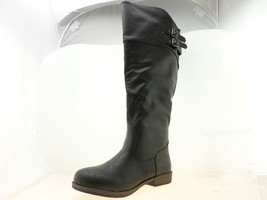 Journee Collection Tori Womens Knee-High Boots Black Size 8.5 - $44.34